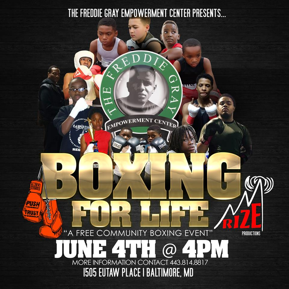 Boxing for Life poster